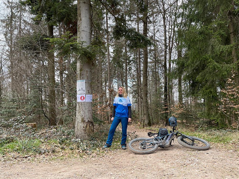 Aktionstag: Unterstützung Waldeigentümer durch Mountainbiker
