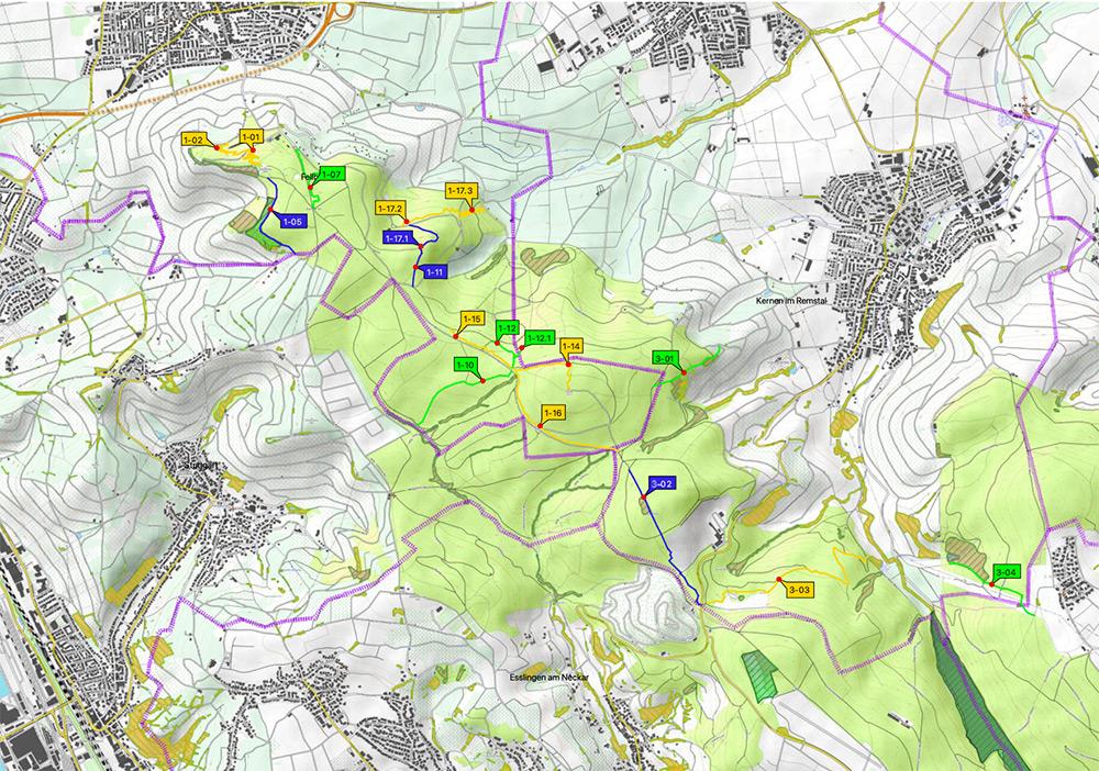 Traillegalisierung Gemarkung Fellbach DIMB
